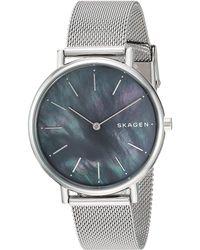 Skagen - Signatur Slim - Skw2730 (silver) Watches - Lyst