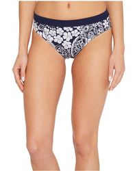 Tommy Bahama - Islandactive Paisley Paradise Reversible High-waist Bikini Bottom - Lyst