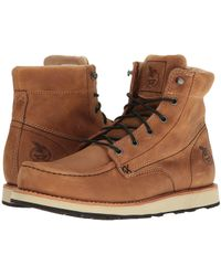 027e989fac40 Lyst - Wolverine Moc Toe Wedge (brown) Men s Work Boots in Brown for Men