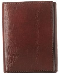 Bosca - Old Leather Collection - Trifold Wallet (cognac Leather) Bill-fold Wallet - Lyst