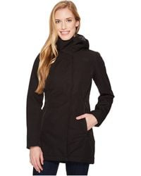 The North Face - Insulated Ancha Parka Ii (tnf Black) Women's Coat - Lyst