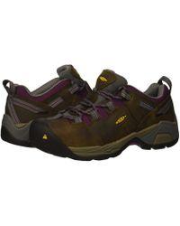 Keen Utility - Detroit Xt Steel Toe (cascade Brown/amaranth) Women's Work Boots - Lyst