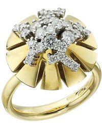 Miseno - Vesuvio 18k Gold/diamond Ring - Lyst
