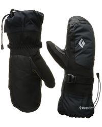 Black Diamond - Mercury Mitts (black) Outdoor Sports Equipment - Lyst