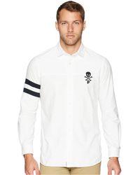 7a75341734e8f Polo Ralph Lauren - Oxford Skull Sport Shirt (color Block) Men s Clothing -  Lyst