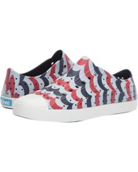 7d3c7bae1df9 Native Shoes Jefferson Pineapple Print Water Friendly Vegan Sneaker ...