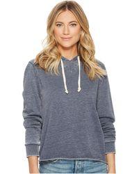 Alternative Apparel - Burnout French Terry Day Off Hoodie (dark Navy) Women's Sweatshirt - Lyst