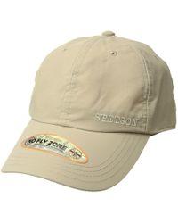 f3dd9737135 Stetson - No Fly Zone Baseball Cap (khaki) Baseball Caps - Lyst