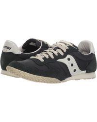 b30ea8024536f Saucony - Bullet (black/silver) Men's Classic Shoes - Lyst