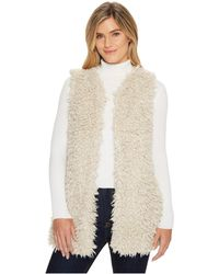 Dylan By True Grit | Adrija Pile Soft Cozy Vest With Side Pockets And Knit Lining | Lyst