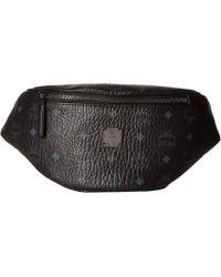 MCM - Stark Belt Bag Small (black) Handbags - Lyst