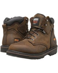 Timberland - 6 Pit Boss Soft Toe (gaucho Oiled Full-grain Leather) Men's Work Lace-up Boots - Lyst