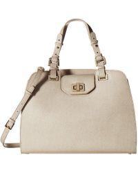 6259cf9d1fb Calvin Klein - Clementine Mercury Satchel (ivory) Satchel Handbags - Lyst