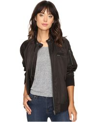 Members Only - Washed Satin Ex-boyfriend Jacket - Lyst