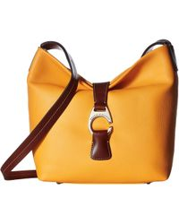 Dooney & Bourke - Derby Crossbody Hobo (sunflower/chestnut Trim) Hobo Handbags - Lyst