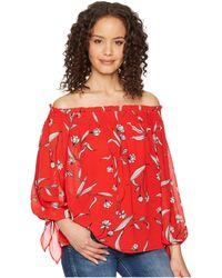 Bardot - Amelia Top (floral) Women's Clothing - Lyst