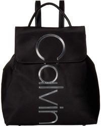 fc7693fce28e Calvin Klein - Mallory Nylon Backpack (black) Backpack Bags - Lyst