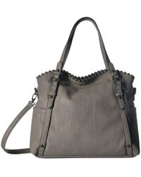 Jessica Simpson - Camile East/west Crossbody Tote (fog) Cross Body Handbags - Lyst
