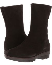La Canadienne - Vogue (espresso Suede/shearling Lined) Women's Cold Weather Boots - Lyst