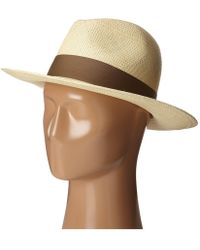 f56ff8e16ab95 Hat Attack - Panama Continental (pecan No Trim) Traditional Hats - Lyst