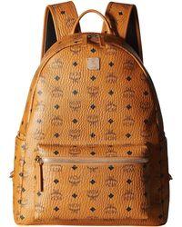 808aab5fb75 MCM - Stark No Stud Medium Backpack (white) Backpack Bags - Lyst