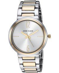 Anne Klein - Ak-3169svtt (two-tone) Watches - Lyst