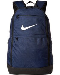 e0f7aa0293e3 Nike - Brasilia Xl Backpack (black black white) Backpack Bags - Lyst
