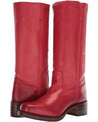 Frye - Campus 14l (burnt Red Polished Soft Full Grain) Cowboy Boots - Lyst