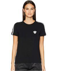 Versace - T-shirt Mc Intimo Donna (black) Women's T Shirt - Lyst