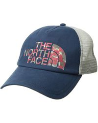 cdcd8572d4f The North Face - Low Pro Trucker Hat (faded Rose vintage White) Baseball