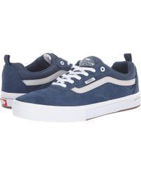 Vans - Kyle Walker Pro (dark Denim antarctica) Men s Skate Shoes - Lyst 0bde811d0f1