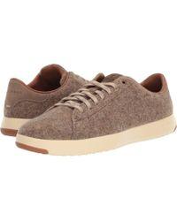Cole Haan - Grandpro Tennis Sneaker (black/black Camo Embossed) Men's Shoes - Lyst