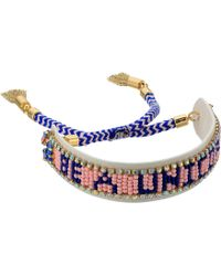Rebecca Minkoff - Be A Unicorn Seed Bead Friendship Bracelet - Lyst