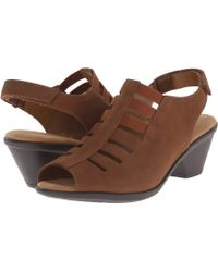 Comfortiva - Faye (anthracite Distressed Foil Suede) Women's 1-2 Inch Heel Shoes - Lyst