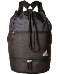 05cccf71ad adidas - Squad Bucket Backpack (white Grip black lucid Red) Backpack Bags