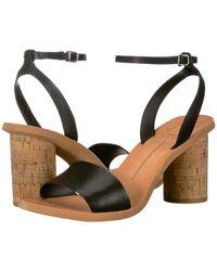 4b4feaacfec Dolce Vita - Jali (black Leather) Women s Sandals - Lyst