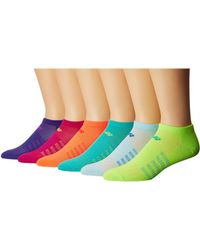 New Balance - Lifestyle No Show 6-pack (assorted 1) No Show Socks Shoes - Lyst