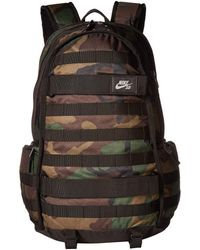 7617bf946c Nike - Rpm Graphic (black Floral Combo) Backpack Bags - Lyst