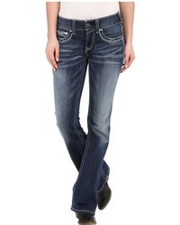 Ariat - R.e.a.l.tm Boot Cut Entwined Jeans In Marine - Lyst