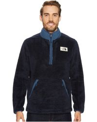 The North Face - Campshire Pullover (granite Bluff Tan/beech Green) Men's Long Sleeve Pullover - Lyst