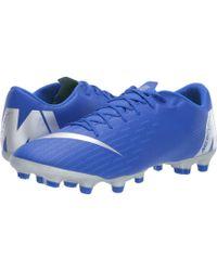 Nike - Vapor 12 Academy Mg (black/anthracite/black/light Crimson) Men's Soccer Shoes - Lyst