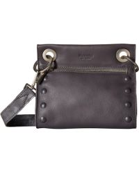 Hammitt - Tony Embossed (juniper/graphite/gunmetal) Cross Body Handbags - Lyst