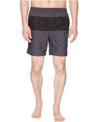 Fred Perry - Panelled Swimshorts - Lyst