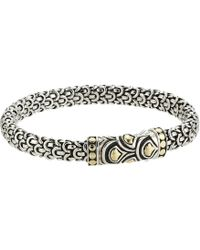 John Hardy - Legends Naga 6mm Station Bracelet - Lyst