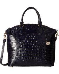 Brahmin - Melbourne Large Duxbury Satchel (black) Satchel Handbags - Lyst