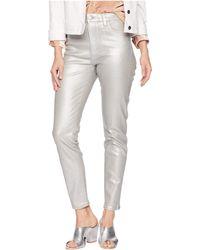 Joe's Jeans - Charlie Ankle In Silver (silver) Women's Jeans - Lyst