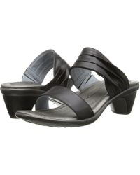 248e96732be4 Lyst - Naot Cheer (jet Black Leather black Patent Leather) Women s ...
