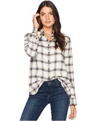 Pendleton - Primary Flannel Shirt (midnight Navy Plaid) Women's Clothing - Lyst