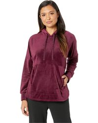 Donna Karan - Hooded Top (black Currant) Women's Pajama - Lyst