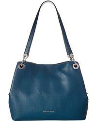 MICHAEL Michael Kors - Raven Large Shoulder Tote (pearl Grey) Tote Handbags - Lyst